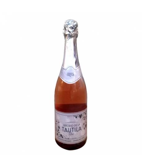 Tautila vin mousseux rose sans alcool