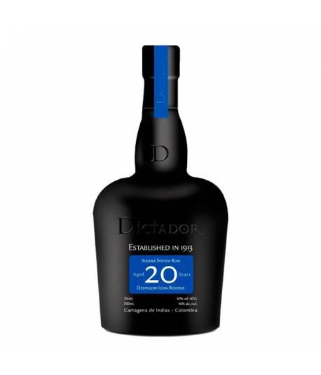 Dictador 20 años solera system rum