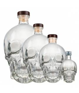 Crystal Head Vodka Set 0,05L + 0,7L + 1,75L + 3L