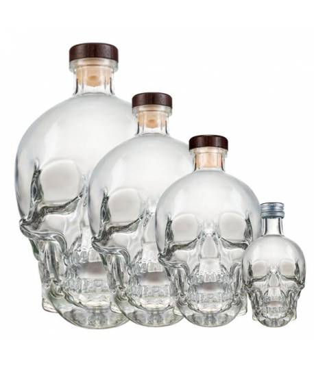 Crystal Head Vodka Set 0,05L + 0,7L + 1,75L +3 L