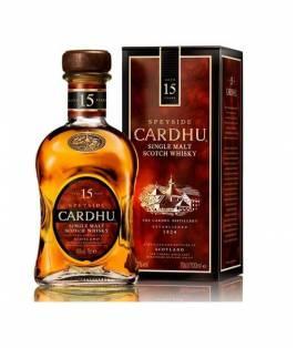 Whisky Cardhu 15 Ans 70 cl.