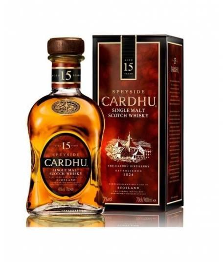 Whisky Cardhu 15 Jahre alt 70 cl.