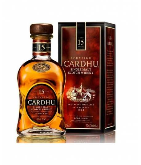Whisky Cardhu 15 Years Old 70 cl.