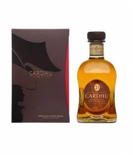 Whisky Cardhu 21 Jahre alt 70 cl.
