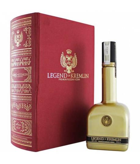 Vodka Legend of Kremlin Golden Edition