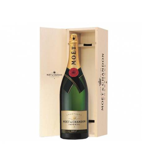 Moet & Chandon Brut Imperial Balthazar Caja Madera
