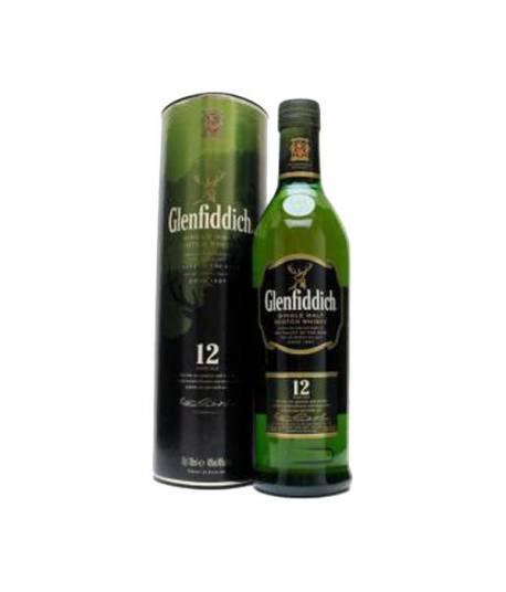 Whisky Glenfiddich 12 Años 700 ml