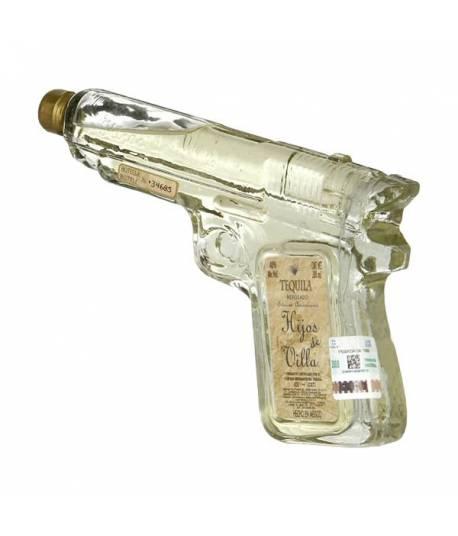 Hijos de Villa Tequila Reposado, Botella-Revolver