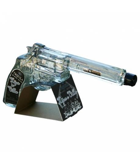 Hijos de Villa Tequila Blanco, Botella-Revolver