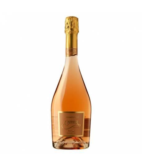 Cattier Brut Antique Rosé Premier Cru 750 ml con 2 copas