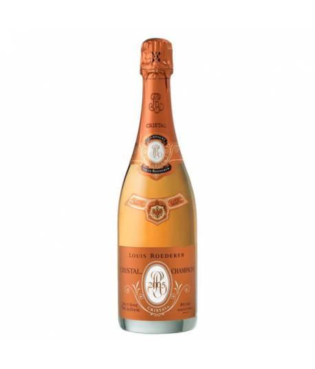 Louis Roederer Cristal Rosé 2005 750 ml com caixa de presente