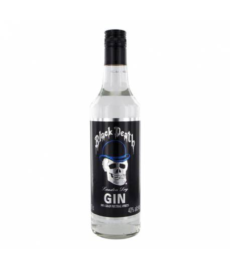 Black Death Gin 700 ml